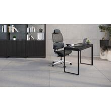 See Details - Linea 6222 Console Desk in Charcoal Stained Ash