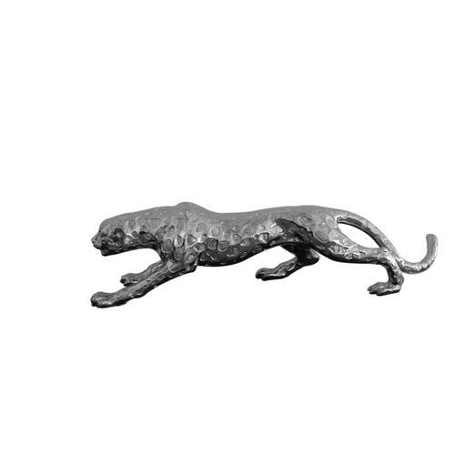 """Gallery - Modrest Jaguar Modern Silver Sculpture 32"""""""