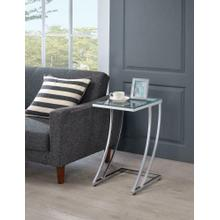 See Details - Modern Chrome Accent Table