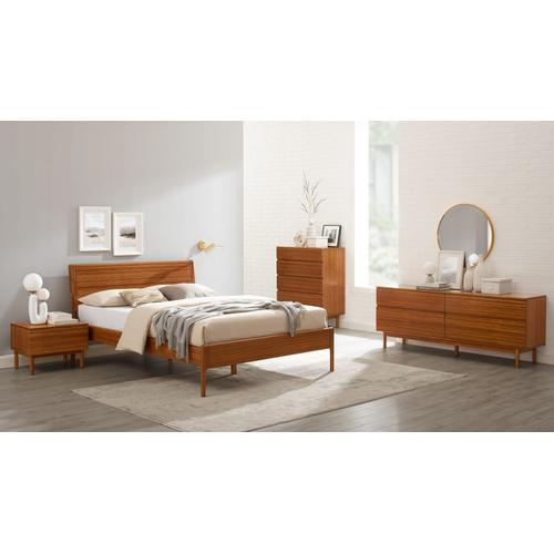 Greenington Fine Bamboo Furniture - Ventura Queen Platform Bed, Amber