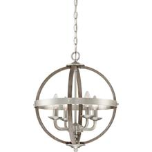 View Product - Fusion Pendant in Brushed Nickel