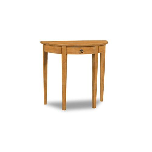 John Thomas Furniture - Half Round Table