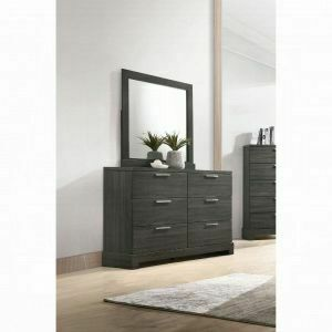 ACME Lantha Nightstand - 22033 - Gray Oak