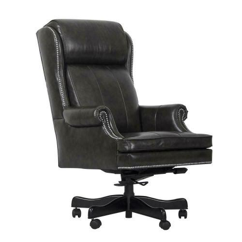 DC#105-PGR - DESK CHAIR Leather Desk Chair