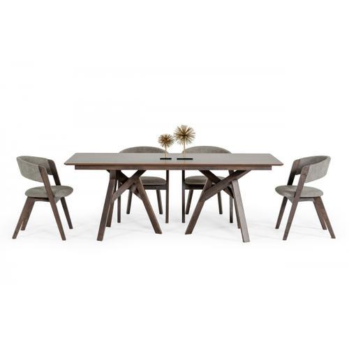 VIG Furniture - Modrest Grover - Modern Dark Wenge Dining Table