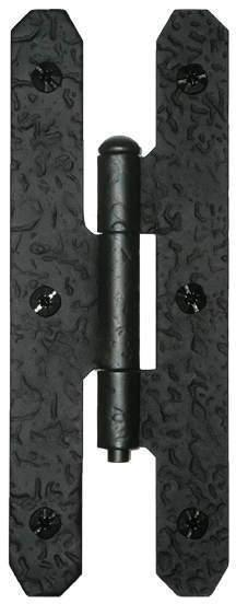 H Hinge - Rough Iron Product Image