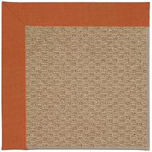 Creative Concepts-Raffia Canvas Rust Machine Tufted Rugs
