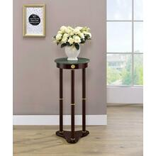 View Product - Traditional Merlot Round Plant Stand