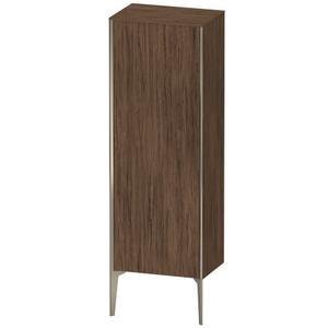 Semi-tall Cabinet Floorstanding, Walnut Dark (decor)
