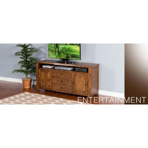 "Cary Live Edge 64"" TV Console"