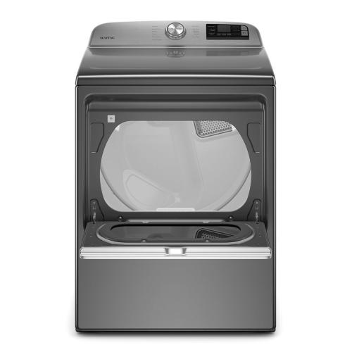 Maytag - Smart Capable Top Load Electric Dryer with Extra Power Button - 7.4 cu. ft.