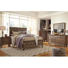 Debeaux - Medium Brown 5 Piece Bedroom Set