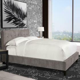 JODY - CORNFLOWER Queen Bed 5/0 (Grey)