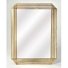 Antiqued and classic, brings elegance where ever its hung. Place this Antiqued Gold rectangle mirror over a console table in your entryway or hall to enlighten or expand the space. Hang over the mantle to bring bright sohpistication to your living area. This contemporary design is a must have.