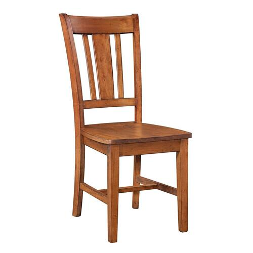 John Thomas Furniture - San Remo Chair inBourbon Oak