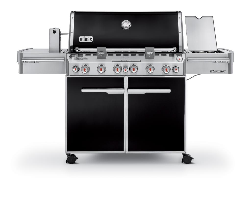 WeberSummit® E-670™ Lp Gas Grill - Black