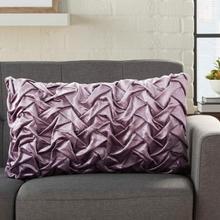 "Life Styles L0064 Lavender 14"" X 24"" Throw Pillow"