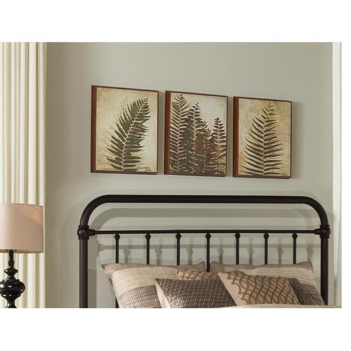 Gallery - Kirkland Full/queen Headboard - Dark Bronze
