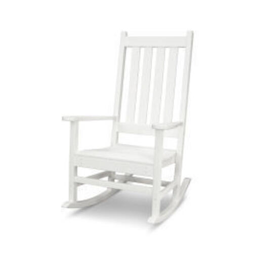 Polywood Furnishings - Vineyard Porch Rocking Chair in Vintage White