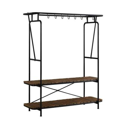 See Details - Clothes and Shoe Standing Rack