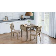 Prescott Park Dropleaf Table W/(2) Slatback Chairs