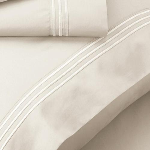 Supima® Cotton Pillowcase Set - Ivory / Queen