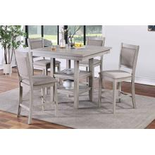 See Details - 5-pcs Counter Height Dining Set