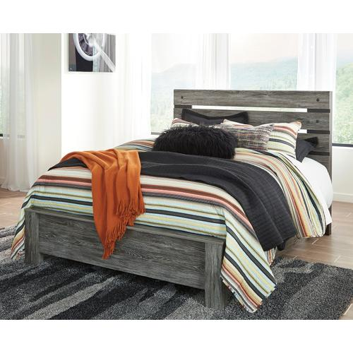 Cazenfeld - Black/Gray 3 Piece Bed (Queen)