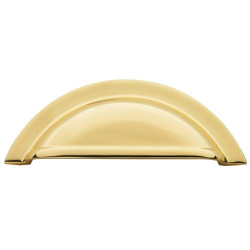 Polished Brass Cup Pull