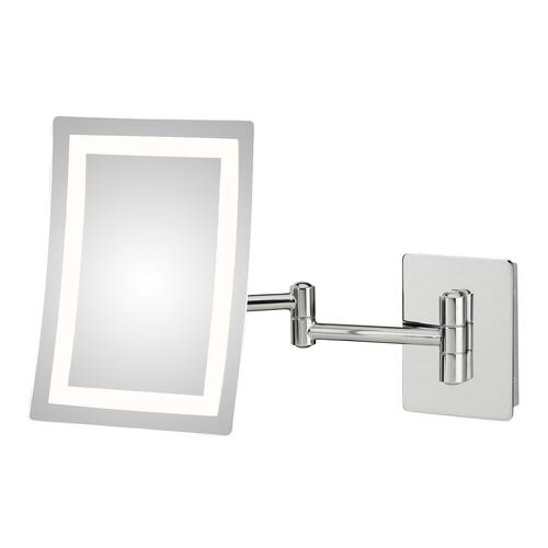 Kimball and Young Single-sided LED Rectangular Wall Mirror - Hardwired