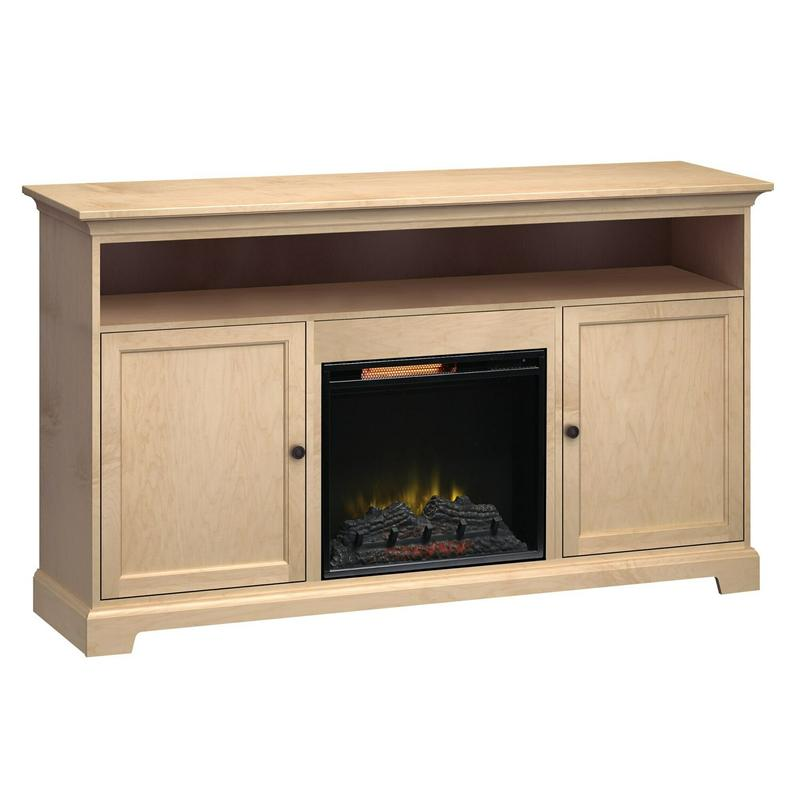 FT72C Extra Tall Fireplace Custom TV Console