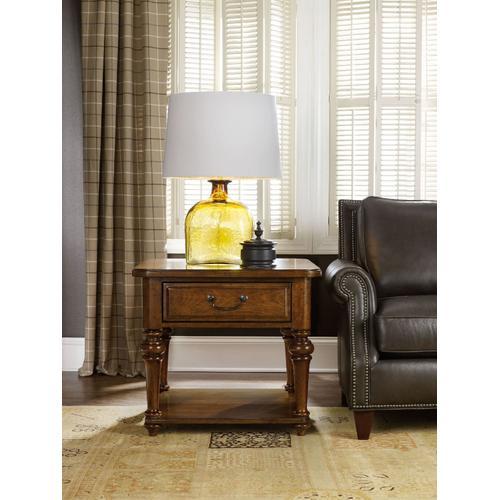 Living Room Tynecastle Lamp Table