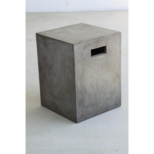 VIG Furniture - Modrest Yem Concrete Dining Stool