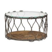 Hidden Treasures Round Cocktail Table Product Image