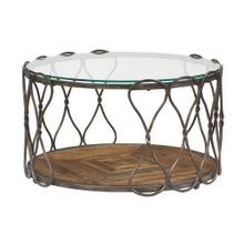 Hidden Treasures Round Cocktail Table Round Dining Table