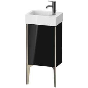 Vanity Unit Floorstanding, Black High Gloss (lacquer)
