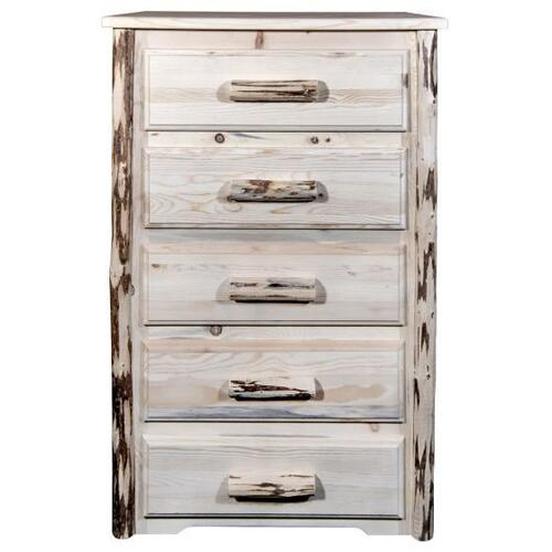 Montana Woodworks - Montana Collection 5 Drawer Chest of Drawers