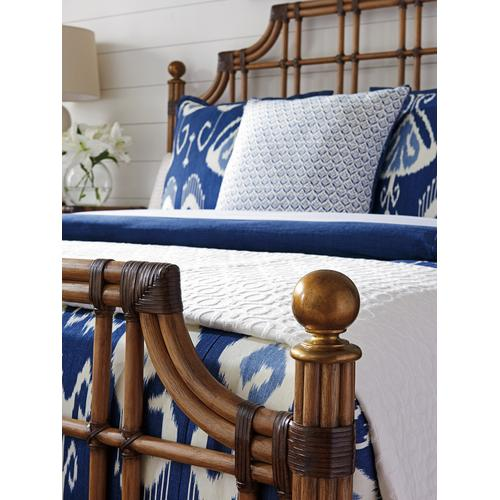 St. Kitts Rattan Bed California King