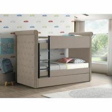 ACME Romana II Bunk Bed & Trundle (Twin/Twin) - 37850 - Beige Fabric