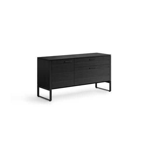 BDI Furniture - Linea 6220 Multifunction Cabinet in Charcoal Stained Ash