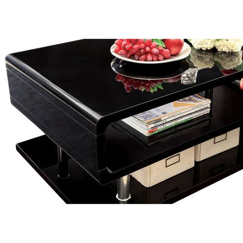 Ninove End Table, Black