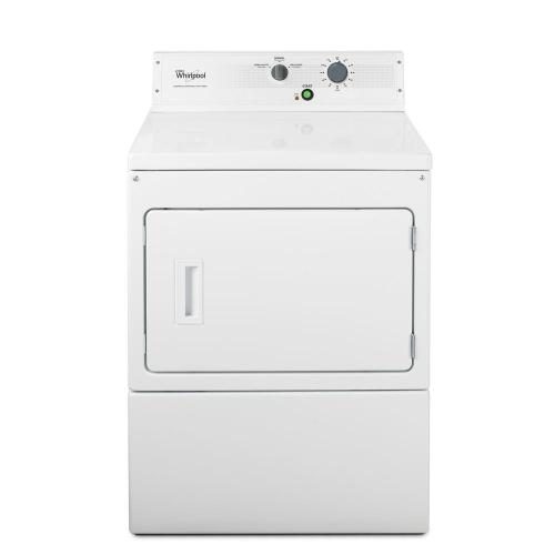 """Whirlpool Commercial - 27"""" Large Capacity Non-Metered Commercial Electric Dryer"""