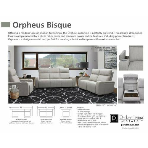 Parker House - ORPHEUS - BISQUE Power Loveseat