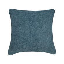 Chevon Cushion - Blue / 100% Duck Feather