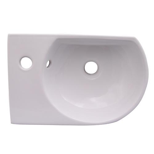 "Ambia 16"" Wall-Hung Basin - Single-Hole Right"