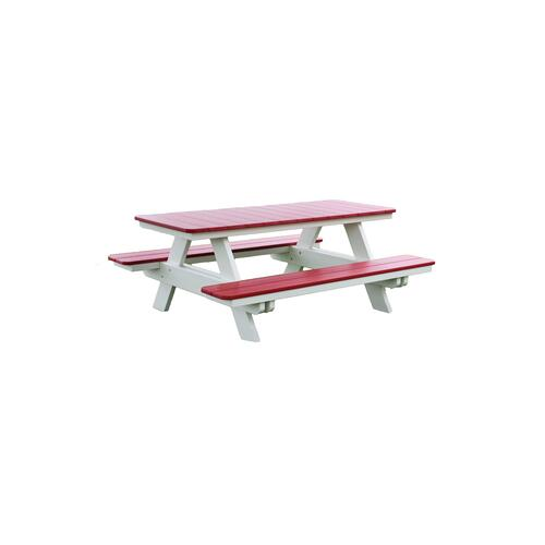 Rectangular Picnic Table
