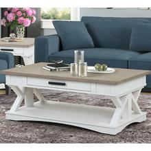 View Product - AMERICANA MODERN - COTTON Cocktail Table