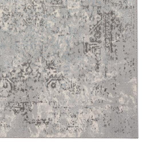 Milagros Greystone Machine Woven Rugs