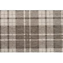 Elegance Plaid Chic Pldch Mocha Broadloom Carpet