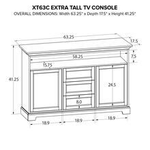 XT63C Extra Tall Custom TV Console
